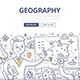 Geography Doodle Concept - GraphicRiver Item for Sale