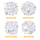 Content Marketing Doodle Illustrations - GraphicRiver Item for Sale