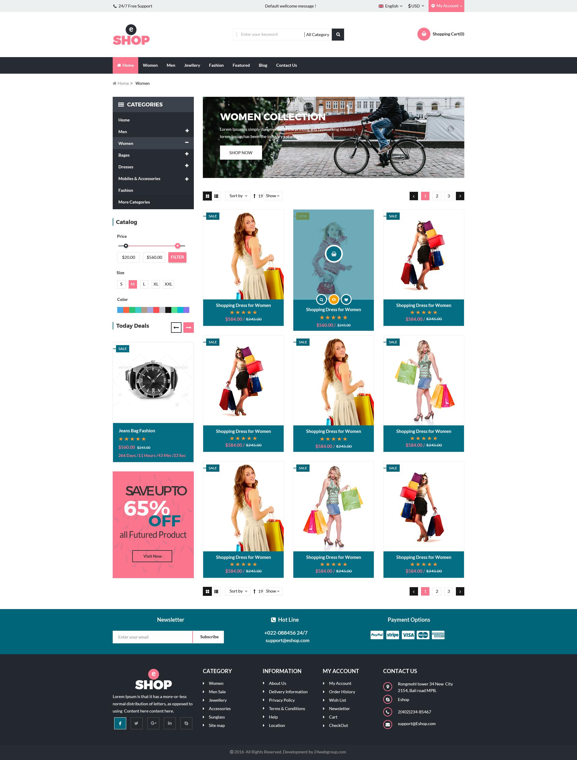eShop-Multipurpose ecommerce PSD Template by 24webgroup | ThemeForest