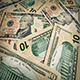 Ten Dollar Bills Rotating - VideoHive Item for Sale