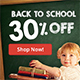 Back to School Web Banners - GraphicRiver Item for Sale