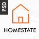 HOMESTATE - Single Property Real Estate PSD Template - ThemeForest Item for Sale