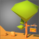 Single Cartoon Tree - 3DOcean Item for Sale