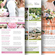 Wedding Planner Rack Card-Graphicriver中文最全的素材分享平台