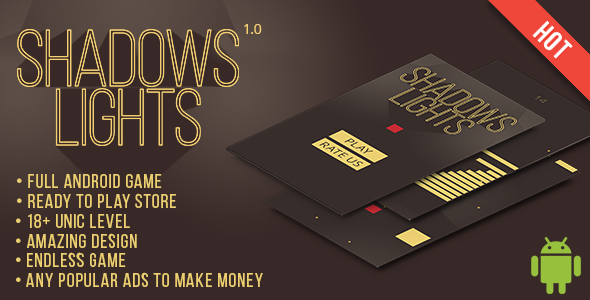 Shadows and lights Android Game - CodeCanyon Item for Sale