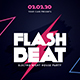 Flash Beat Music Party Flyer - GraphicRiver Item for Sale