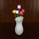 Rose in Vase - 3DOcean Item for Sale