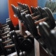 Man Training With Dumbbells - VideoHive Item for Sale