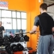 Handsome Man At The Gym Doing Exercises - VideoHive Item for Sale