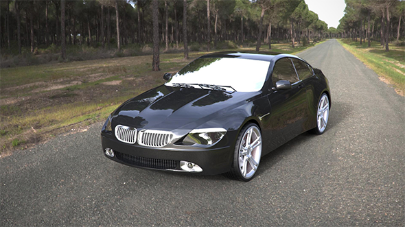 BMW 6-Series Coupe - 3DOcean Item for Sale