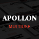 Apollon - Creative MultiPurpose WordPress Theme - ThemeForest Item for Sale