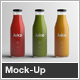 Juice Bottle Packaging Mock-Up - GraphicRiver Item for Sale