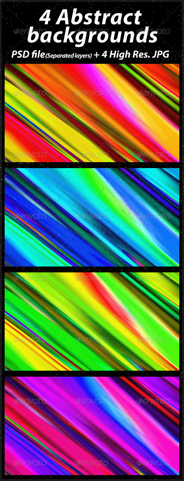 4 Abstract Backgrounds - Abstract Backgrounds