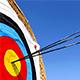 An Arrow at a Target