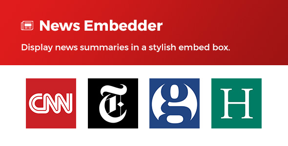 News Embedder - CodeCanyon Item for Sale