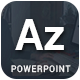 AZ - Multipurpose Powerpoint Template - GraphicRiver Item for Sale