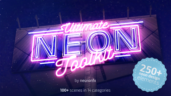 Real 3D Neon Kit - 6