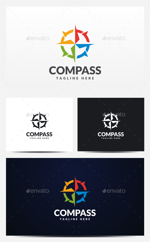 Compass Logo - Objects Logo Templates