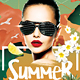 Summer Madness Party Flyer - GraphicRiver Item for Sale