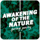 Awakening of Nature - Music Event Flyer - GraphicRiver Item for Sale