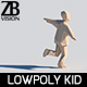 Lowpoly Kid 003 - 3DOcean Item for Sale