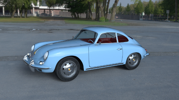 Porsche 356 HDRI - 3DOcean Item for Sale
