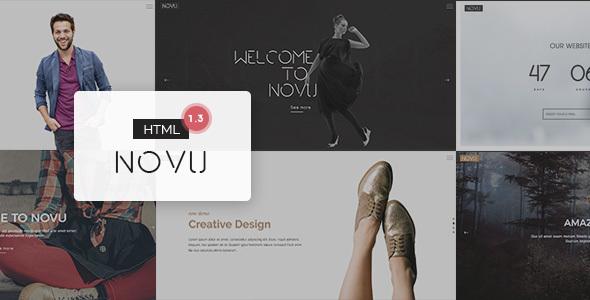 Novu – Modern & Creative HTML Template