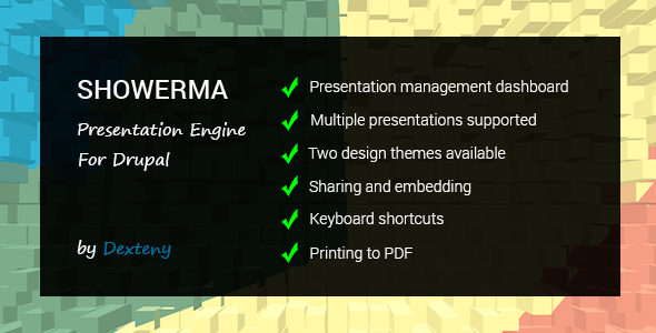Showerma - Presentation Engine For Drupal - CodeCanyon Item for Sale