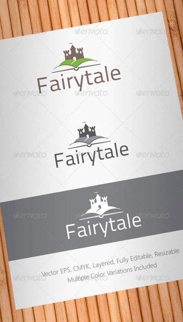 Fairytale Logo Template - Buildings Logo Templates