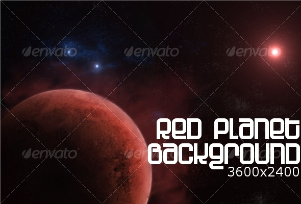 Red Planet Background - Backgrounds Graphics