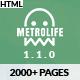 Metrolife - Responsive Multipurpose HTML5 Template - ThemeForest Item for Sale