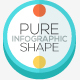 Pure Shape Infographic. Set 3 - GraphicRiver Item for Sale