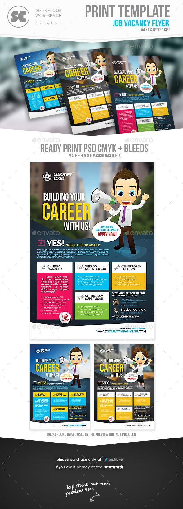 Job Flyer Kenindlecomfortzone