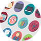 120 Flat Icons - GraphicRiver Item for Sale
