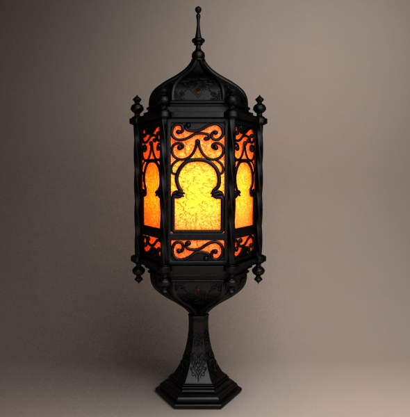 ramadan Lantern 3 - 3DOcean Item for Sale