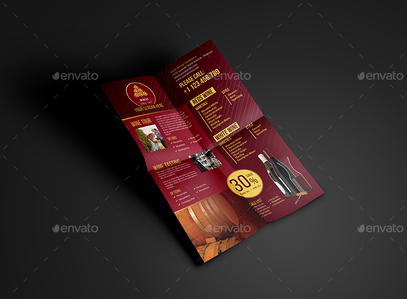 Winery flyer template by wutip2 graphicriver 01winery flyer templateg maxwellsz