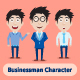 Businessman Characters - GraphicRiver Item for Sale