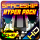 Spaceship Hyper Pack - GraphicRiver Item for Sale
