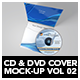 CD & DVD Cover Mock-Up vol 02 - GraphicRiver Item for Sale