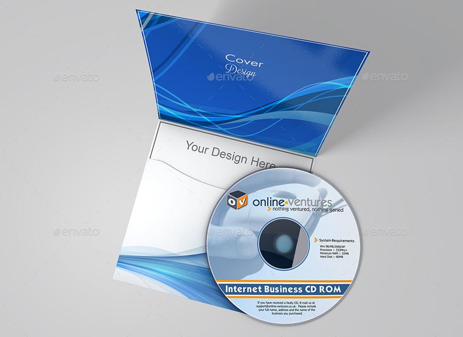 CD & DVD Cover Mock-Up vol 02