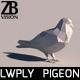 Lowpoly Pigeon 001 - 3DOcean Item for Sale