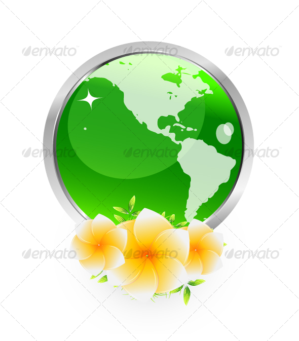 Green planet - Nature Conceptual