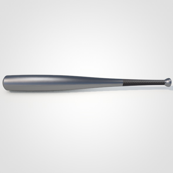 Aluminum Baseball Bat - 3DOcean Item for Sale