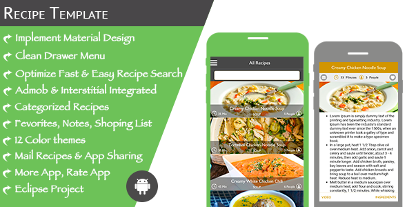 Multi purpose recipe template for android by expresstemplate multi purpose recipe template for android codecanyon item for sale forumfinder Gallery