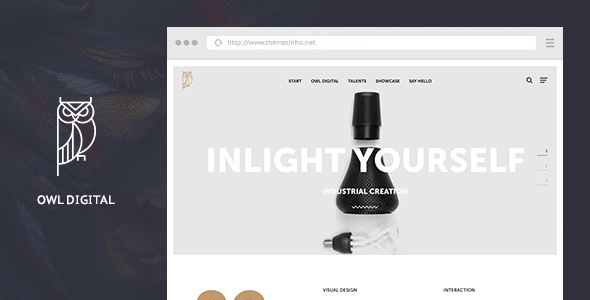 Owl Digital – Creative Agency WordPress Theme