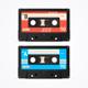 Colorful Cassette Tape Old Set - GraphicRiver Item for Sale