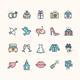 Wedding Icon Set - GraphicRiver Item for Sale