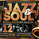 Jazz and Soul Flyer Template - GraphicRiver Item for Sale