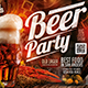 Beer Party Flyer Horizontal - GraphicRiver Item for Sale