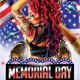 Memorial Day Party Flyer